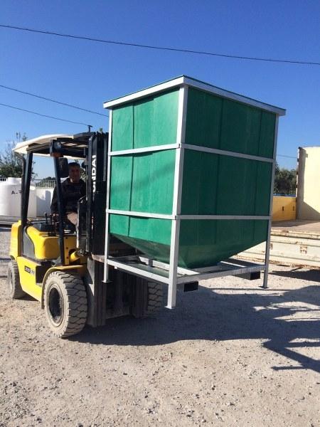 Plastik Zeytin Taşıma Kabı